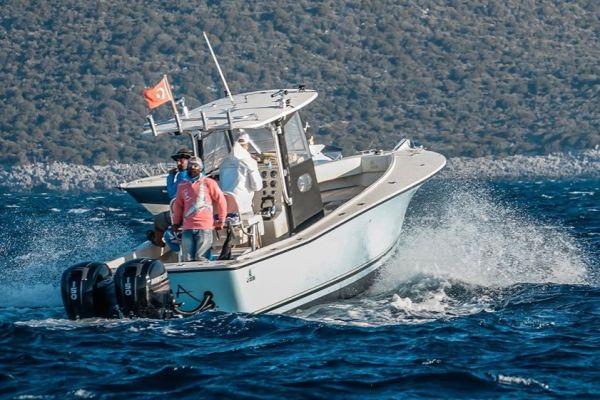Профессиональная рыбалка на Эгейском море из Алачати