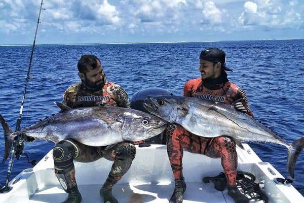 Рыбалка на коралловом острове Лавиани
