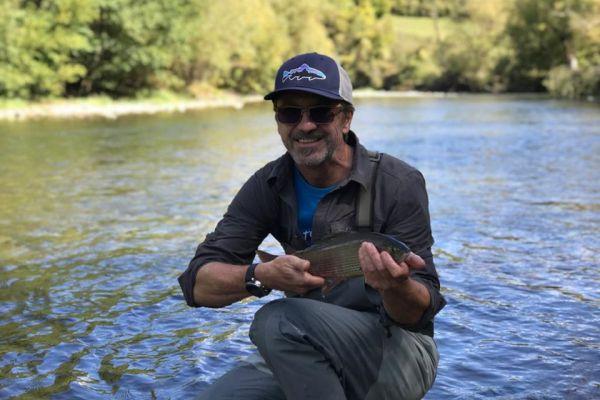 Рыбалка на реке Тара в Черногории