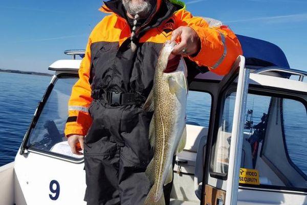 Рыбалка на острове Лангеланн в Дании