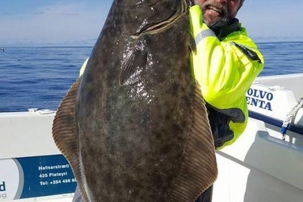 Морская рыбалка в Исландии